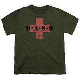 Youth: Mash- 4077Th Cross T-Shirt