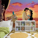 Disney Aladdin - Group - Vlies Non-Woven Mural Vlies Wallpaper Mural