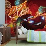 Disney Cars - Neon Lightning McQueen - Vlies Non-Woven Mural Mural de papel pintado