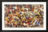 Konvergenz Kunst von Jackson Pollock