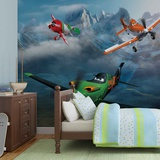 Disney Planes - In the Snow - Vlies Non-Woven Mural Vlies Wallpaper Mural