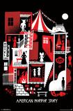 American Horror Story- Graphic Seasons Pôsters