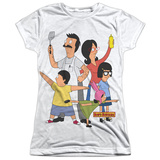 Juniors: Bobs Burgers- Hero Pose Womens Sublimated