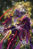 All-New, All-Different Avengers No. 10 Cover Art Featuring: Nova, Vision, Thor (Female), Iron Man Posters av Alex Ross