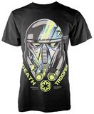 Star Wars: Rogue One- Death Trooper Helmet T-shirts