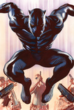 Black Panther No. 1 Cover Art Kunstdrucke von Alex Ross