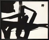 Untitled, 1950 Indrammet giclee-tryk af Franz Kline