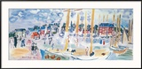 Dimanche a Deauvilie Posters by Raoul Dufy