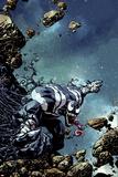 Venom: Space Knight No. 10 Cover Art Stampe di Zach Howard