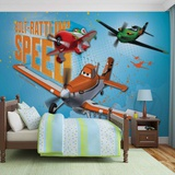 Disney Planes - Bolt Rattlin' Speed - Vlies Non-Woven Mural Vlies-tapettijuliste