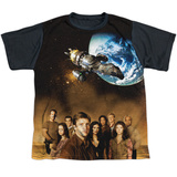 Youth: Firefly- Cast Poster Black Back T-shirts