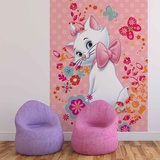 Disney Aristocats - Marie with Butterfly - Vlies Non-Woven Mural Vlies muurposter
