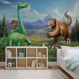 Disney The Good Dinosaur - Arlo, Spot, Butch - Vlies Non-Woven Mural Vlies Wallpaper Mural