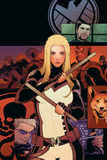 Mockingbird No. 3 Cover Art Featuring: Mockingbird, Hydra, Hawkeye Poster di Elizabeth Torque