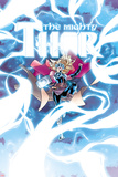 Mighty Thor No. 8 Cover Art Featuring Thor (Female) Posters par Russell Dauterman