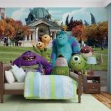 Disney Monsters Inc. - University - Vlies Non-Woven Mural Vlies Wallpaper Mural