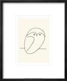 El búho Pósters por Pablo Picasso
