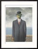 Le Fils de L'Homme (Son of Man) Julisteet tekijänä Rene Magritte