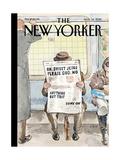 The New Yorker Cover - November 14, 2016 Reproduction procédé giclée par Barry Blitt