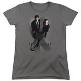 Womens: X Files- X Marks The Spot T-shirts