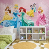Disney Princesses - Ballroom Sparkle - Vlies Non-Woven Mural Vlies-tapettijuliste