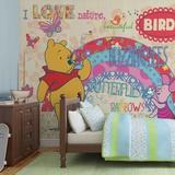 Disney Winnie the Pooh - Love Nature - Vlies Non-Woven Mural Vlies-tapettijuliste