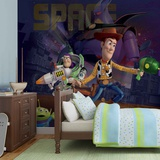 Disney Toy Story - Woody and Buzz in Space - Vlies Non-Woven Mural Vlies Wallpaper Mural