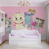 Disney Aristocats - Marie - Vlies Non-Woven Mural Vlies Wallpaper Mural