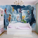 Disney Fairies - Tinker Bell and Periwinkle - Vlies Non-Woven Mural Vlies-tapettijuliste