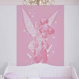 Disney Fairies - Tinker Bell Pose  - Vlies Non-Woven Mural Vlies Wallpaper Mural