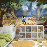 Disney Snow White - Forest Friends - Vlies Non-Woven Mural Vlies-tapettijuliste
