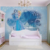Disney Frozen - Queen Elsa - Vlies Non-Woven Mural Carta da parati decorativa