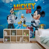 Disney Mickey Mouse - Number 28 - Vlies Non-Woven Mural Vlies-tapettijuliste