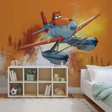 Disney Planes - Dusty Crophopper - Vlies Non-Woven Mural Vlies Wallpaper Mural