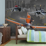 Disney Planes - Jolly Wrenches - Vlies Non-Woven Mural Vlies Wallpaper Mural