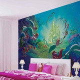 Disney The Little Mermaid - Atlantica - Vlies Non-Woven Mural Vlies muurposter