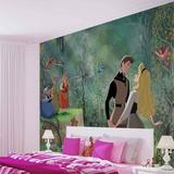 Disney Sleeping Beauty - Prince Charming - Vlies Non-Woven Mural Vlies Wallpaper Mural