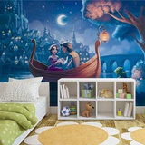 Disney Tangled - Rapunzel Boat Ride - Vlies Non-Woven Mural Vlies Wallpaper Mural