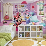 Disney - Minnie Mouse and Daisy Duck 2 - Vlies Non-Woven Mural Papier peint intissé