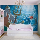 Disney The Little Mermaid - Treasure Trove - Vlies Non-Woven Mural Vlies muurposter