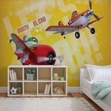 Disney Planes - Dusty & El Chu - Vlies Non-Woven Mural Vlies Wallpaper Mural