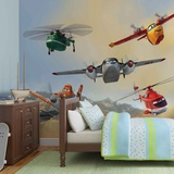 Disney Planes - Dusty Blade Dipper Cabbie - Vlies Non-Woven Mural Vlies Wallpaper Mural