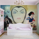 Disney Snow White - Evil Queen - Vlies Non-Woven Mural Vlies-tapettijuliste