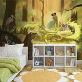 Disney Princess and the Frog - Tiana Kiss - Vlies Non-Woven Mural Vlies Wallpaper Mural