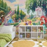 Disney Palace Pets - Princesses in the Garden - Vlies Non-Woven Mural Mural de papel pintado