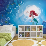 Disney The Little Mermaid - Ariel Swimming - Vlies Non-Woven Mural Vlies muurposter