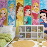 Disney - Princess Panels - Vlies Non-Woven Mural Vlies Wallpaper Mural