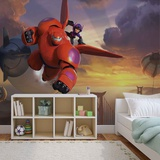 Disney Big Hero 6 - Hiro and Baymax - Vlies Non-Woven Mural Vlies Wallpaper Mural