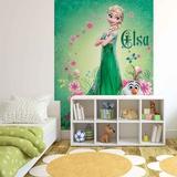 Disney Frozen Fever - Elsa and Olaf Wallpaper Mural