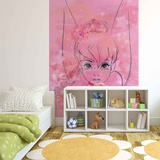 Disney Fairies - Tinker Bell Floral Wallpaper Mural